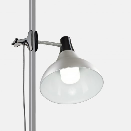 Artist clip-on studio lamp